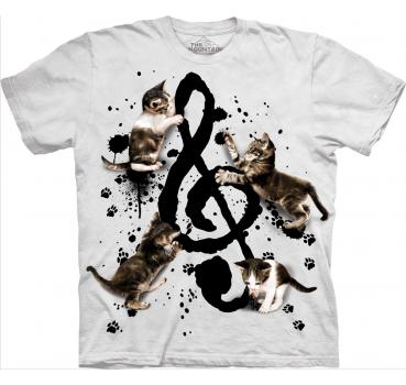 The Mountain T-Shirt Music Kittens
