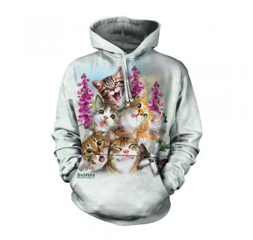 The Mountain Kapuzensweater Kittens Selfie Hoodie