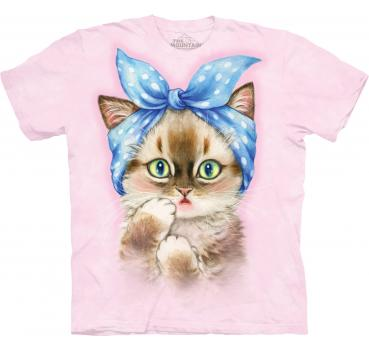 The Mountain Pin-Up Kitten T-Shirt