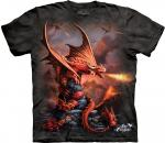 The Mountain Fire Dragon Kids T-Shirt