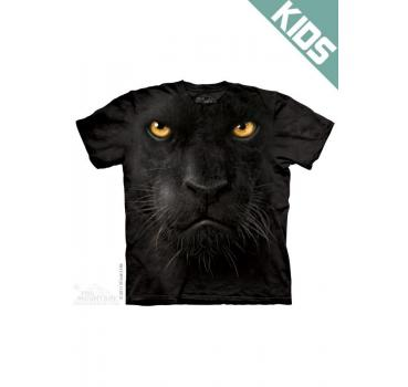 The Mountain Kids T-Shirt Black Panther Face