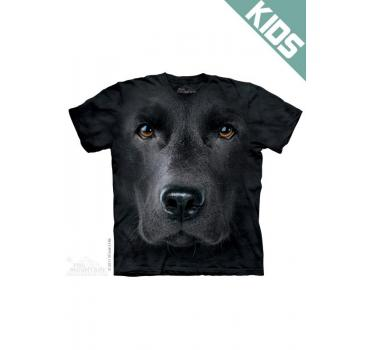 The Mountain Kids T-Shirt Black Lab Face