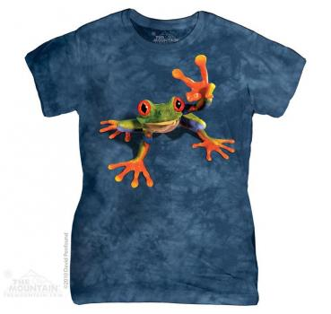 The Mountain Batik Victory Frog Damen T-Shirt