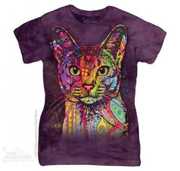 The Mountain Batik Abyssinian Damen T-Shirt