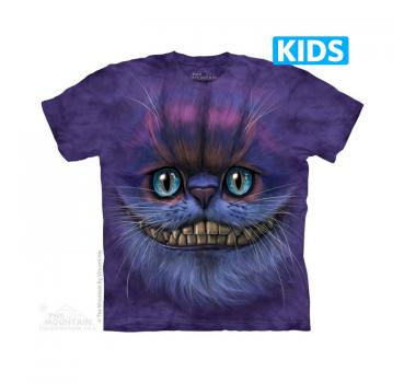 The Mountain Kids T-Shirt Big Face Cheshire Cat