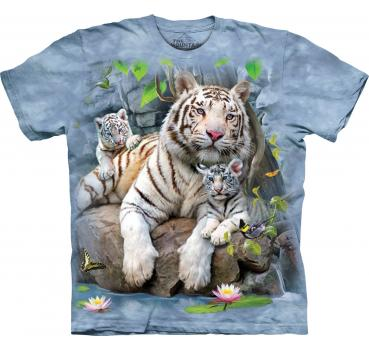 The Mountain T-Shirt White Tigers of Bengal