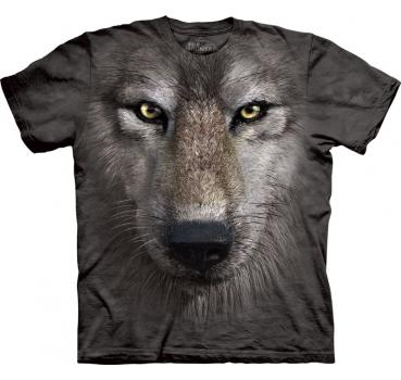 The Mountain T-Shirt Wolf Face