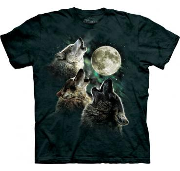 The Mountain T-Shirt Three Wolf Moon