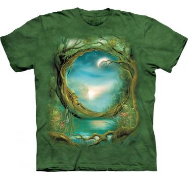The Mountain T-Shirt Moon Tree