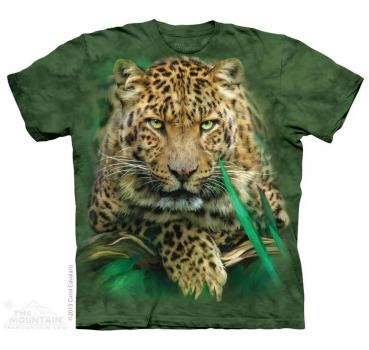 The Mountain T-Shirt Majestic Leopard