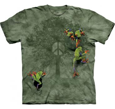 The Mountain T-Shirt Peace Tree Frog