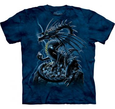 The Mountain T-Shirt Skull Dragon