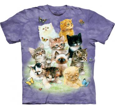 The Mountain T-Shirt 10 Kittens