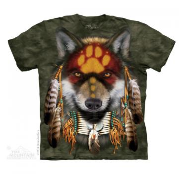 The Mountain T-Shirt Native Wolf Spirit