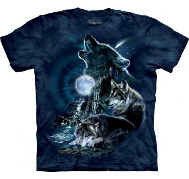 The Mountain T-Shirt Bark at the Moon