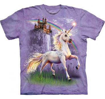 The Mountain T-Shirt Unicorn Castle