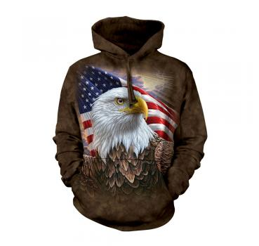 The Mountain Kapuzensweater Independence Eagle Hoodie