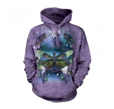The Mountain Kapuzensweater Dragonfly Dreamcatcher Hoodie