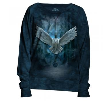 The Mountain Damen Crew Pullover Awake Your Magic
