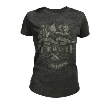 The Mountain Tri-Blend Damen T-Shirt Take Me