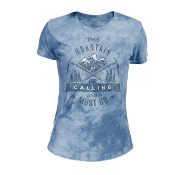 The Mountain Tri-Blend Damen T-Shirt Calling Women's