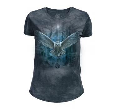 The Mountain Tri-Blend Damen T-Shirt Awake Your Magic