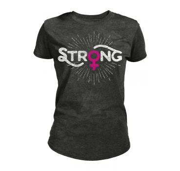 The Mountain Tri-Blend Damen T-Shirt Strong