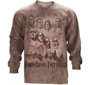 The Mountain Langarm T-Shirt The Founders