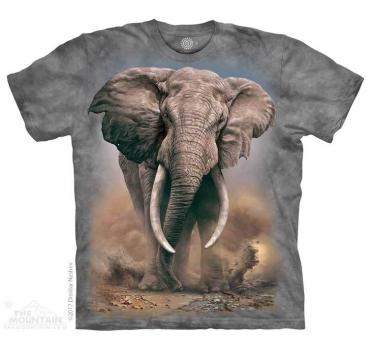 The Mountain African Elephant T-Shirt