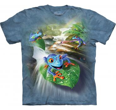 The Mountain Frog Capades Kids T-Shirt