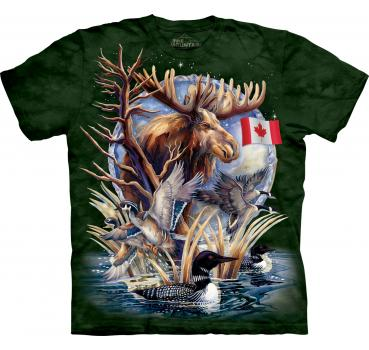 The Mountain T-Shirt Canada Loon