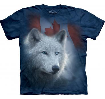 The Mountain T-Shirt Canadian White Wolf