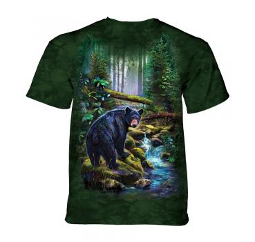 The Mountain Black Bear Forest T-Shirt