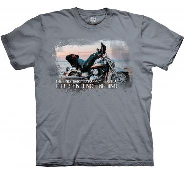 The Mountain T-Shirt Biker For Life