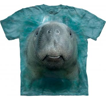 The Mountain T-Shirt Big Face Manatee
