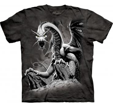 The Mountain T-Shirt Black Dragon
