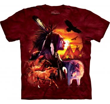 The Mountain T-Shirt Indian Collage