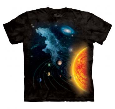 The Mountain T-Shirt Solar System