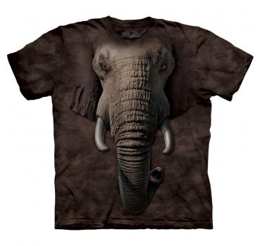 The Mountain T-Shirt Elephant Face