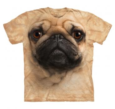 The Mountain T-Shirt Pug Face