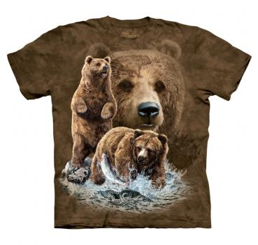The Mountain T-Shirt Find 10 Brown Bears
