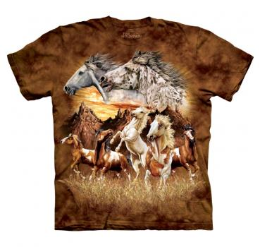 The Mountain T-Shirt Find 15 Horses