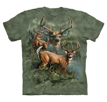 The Mountain T-Shirt Deer Collage