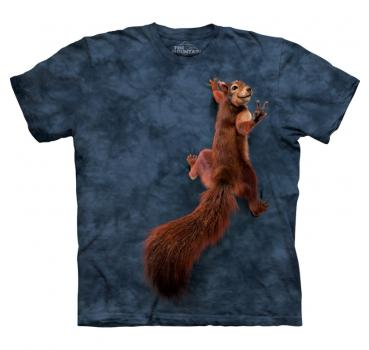 The Mountain T-Shirt Peace Squirrel