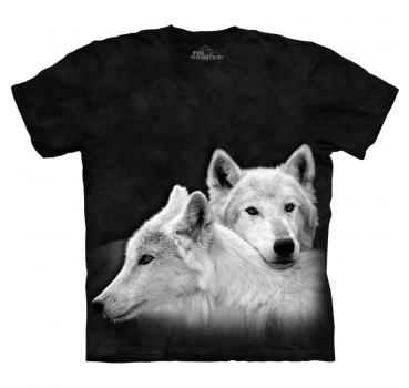 The Mountain T-Shirt Siblings Wolf