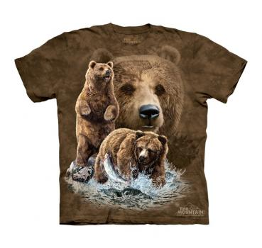 The Mountain Kids T-Shirt Find 10 Brown Bears