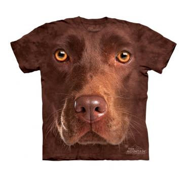 The Mountain Kids T-Shirt Chocolate Lab Face