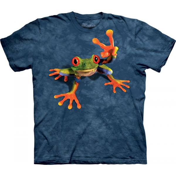 The Mountain T-Shirt Victory Frog