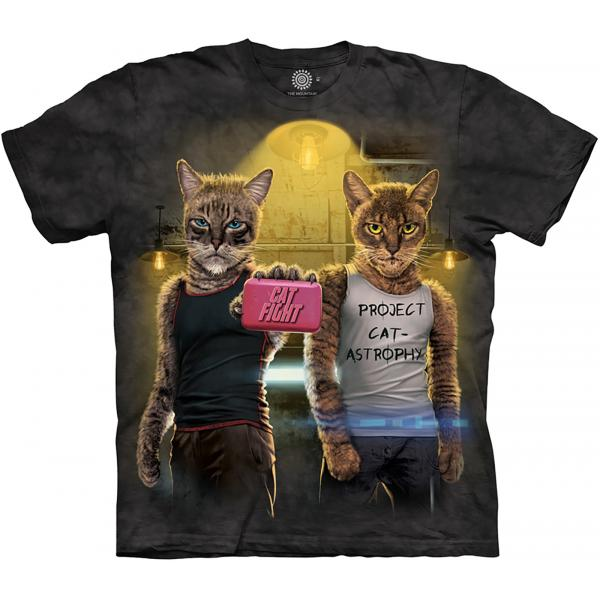 The Mountain T-Shirt Cat Fight
