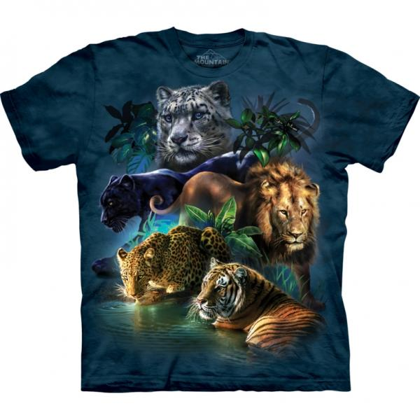 The Mountain T-Shirt Big Cats Jungle